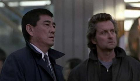 Ken-Takakura--Michael-Douglas-Black-Rain